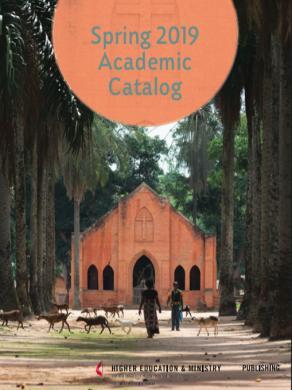 Spring 2019 Academic Catalog